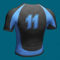Custom Rugby Shirts for Men , Poly - Spandex Sublimated Rugby Team Wear Manufactures