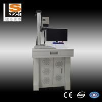 China Small Scale Pocket Fiber Laser Marking Equipment / Laser Engraving Machine For Metal on sale