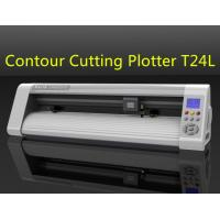 Teneth Automatic Contour Cut Vinyl Cutting Plotter with Laser Sensor Manufactures
