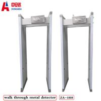 Walk Through Body Metal Detectors 33 Zones 2000x700mm Vertical Channel Size Manufactures