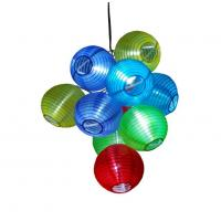 Solar Christmas Lantern Light String(10pc) Manufactures