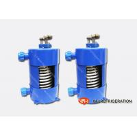 China Titanium Shell And Tube Refrigeration Heat Exchanger For Aquarium Chiller on sale