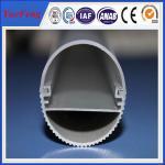 6000 series led aluminum profile for led strip lights, alu heating radiator led light bars Manufactures