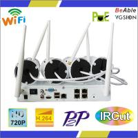 New Arrival!!4CH WIFI IP camera and wireless NVR for sale!!! Manufactures