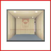 Load 1000-5000kg Freight High Speed Elevator With Personalized Car Decoration Manufactures
