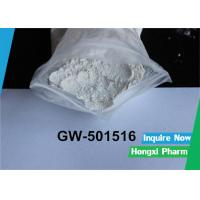 China Endurance SARMs Raw Powder GW 501516 Cardarine For Fat Loss CAS 317318-70-0 on sale