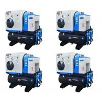All - in - one  7.5hp Twin Screw Compressor With Dryer Tank and Filters Manufactures
