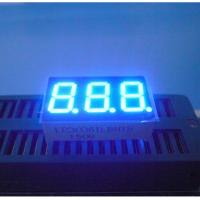 0.36 Inch Numeric LED Display , Blue 7 Segment Led Display 80mcd - 100mcd Manufactures