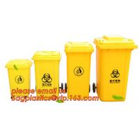 China Medical Disposal Bin Sharp /Safe SharpS Containers biohazard needle disposal sharp container, Plastic Wheeled Trash Can on sale