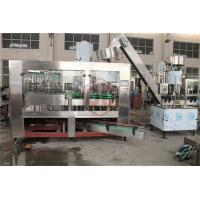 Rotary 3 In 1 Herbal Tea Glass Bottle Rinser Filler Capper Machine Full Automatic Manufactures