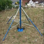 teleskopski jarbol potable telescopic 9 meters high portable high aluminum tube mast antenna tower Manufactures
