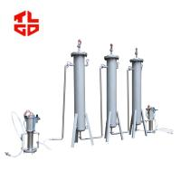 LPG filtration column Machine 1500mm Height Stainless Steel Material Manufactures