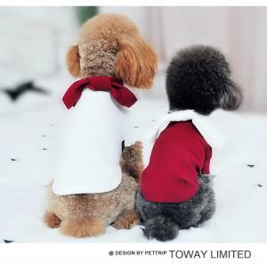 China  Cute Bowtie Shirt Pet Clothes Dog Fashion Apparel          on sale