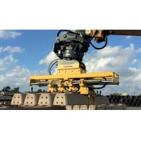 Stable Running Hydraulic Trencher Rail Attachments Quick Running Speed Manufactures