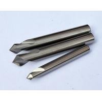 0.8 um Micro Grain Size Chamfer Cutting Tool / End Mill Cutter  With Solid Carbide Manufactures