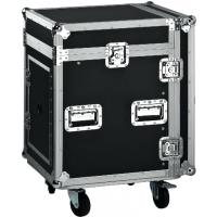 Black Wooden Standard Rack Flight Case / 16U Flight Case / Storage Case Manufactures