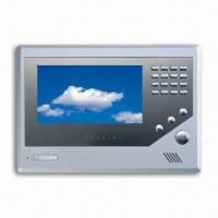 Video intercom System with 7-inch Color Display, ABS or Aluminum Panel, and 7 Alarm Zone, SMT Manufactures