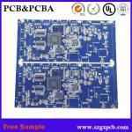 Custom pcb fr4 material 7 led display pcb,round pcb board manufacturer bluetooth module pcba free sample Manufactures