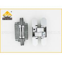 Zinc Alloy 3D 180 Degree Adjustable Concealed Italian Hinges For Door Manufactures