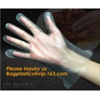 China Disposable Plastic Polythene PE Gloves Cleaning Prepare Food,STERILE TWO FINGER GLOVES IN POLYETHYLENE, small packing PE on sale