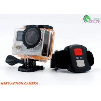 4K Ultra HD Helmet Sports 360 Recording Camera Dual Screen With Remote Control Manufactures