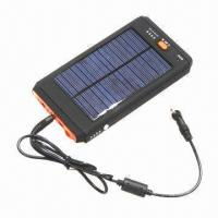 Solar charger with larger 12,000mAh battery for laptop/cellphone/iPad other digital products Manufactures