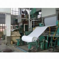 Tissue Paper Machine with 1 to 10T/Day Capacity and Waste Paper Raw Material Manufactures