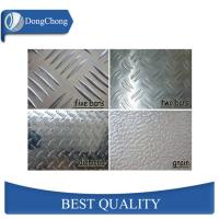 Mill Finish Diamond Aluminum Sheet 0.8mm Slip Resistant Elevators Use Manufactures