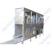 China Stainless Steel 5 Gallon Bottled Water Filling Machine Small With Capacity 150BPH on sale