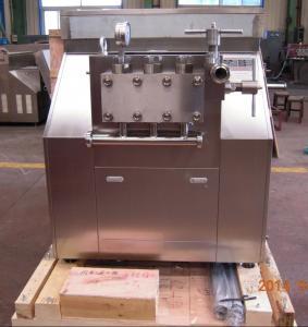China Semi - Automatic Ice Cream Homogenizer High Production Efficiency on sale