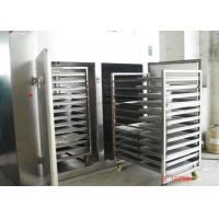 Custom  Industrial Food Dehydrator , Electric Tray Dryer Machine 30 - 300 ℃ Heating Temperature Manufactures