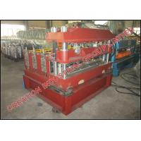 Trapezoidal Profile Roof Sheet Curving Machine With Mitsubishi PLC Controller Manufactures