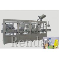 China 2500 * 2000 * 2200mm Water Bottle Filling Machine Rinsing Filling Capping 3-In-1 on sale