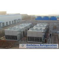 Cold Storage Refrigeration System Evaporative Condenser Chiller Draft Type for sale