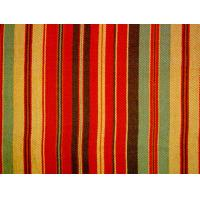 Tear - Resistant Printed Cotton Canvas With Multi Coloured Stripe Manufactures