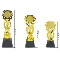 China Custom Plastic Trophy Cup Blank Plate Type For Sports Champions Awards on sale