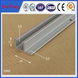 Poster rail aluminium, very cheap aluminium profile anodized aluminium rails extrusion Manufactures