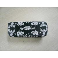 Custom Safety Clamshell Eyeglass Case PU / PVC / Cloth Outside Material Manufactures