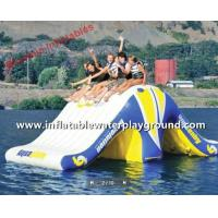 Buy cheap Fantastic 0.9mm PVC Inflatable Revolution For Water Games On Lake from wholesalers