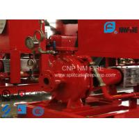 Ductile Cast Iron End Suction Fire Pump Centrifugal With Motor / Magnetic Drive Manufactures
