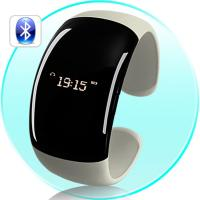 Bluetooth Bracelet Watch with Screen Calling ID Displayer Distance Vibration Manufactures