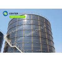 China 560000 Gallon Glass Lined Potable Water Storage TanksWith Glass - Fused - To - Steel Roof on sale