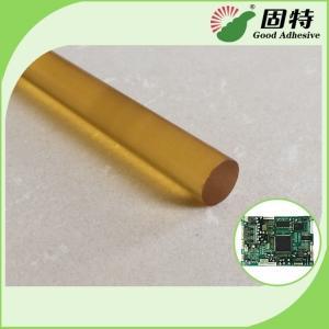 Yellow Color High Strength Hot Melt Glue Sticks , High Temp Hot Glue Gun Glue Manufactures