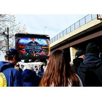 Quality Advertising LED Media  Wall Screen P10.6mm Unconventional Anti - Burning for sale