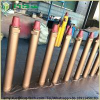 Golden High Air Pressure Downhole Hammer For Water Well Deep Hole Drilling Manufactures