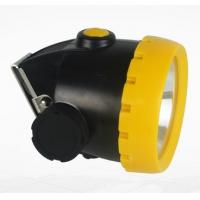 GYLED Rechargeable Mining Cap Lamps , Explosionproof Coal Miner Cap Lights Manufactures
