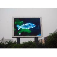 China P10 Outdoor LED Advertising Billboards , LED Video Display Panels High Resolution on sale