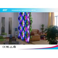 China Rental SMD 3 In 1 Flexible Led Display Panels , Soft Led Curtain Screen P10 wholesale