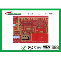 Multilayer Pcb Manufacturing Impandence Control Circuit Board Pcb Layout Red Colour Manufactures