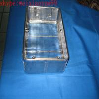 medical stainless steel wire basket/perforated wire mesh baskets with lid Manufactures